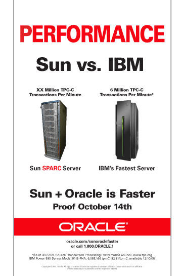 Oracle + SUN: October 14 at OOW the defining date